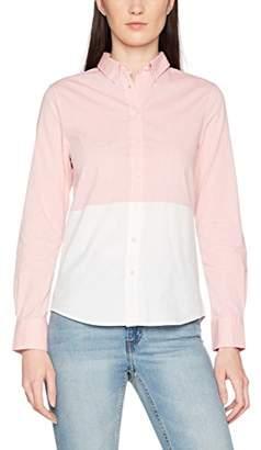 Gant Women's Chambray Block Shirt,8 (Manufacturer Size: 34)
