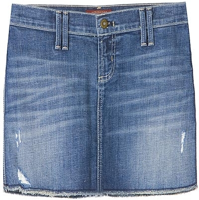 James Jeans Spencer Mini Skirt Pure Wash