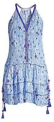 Poupette St Barth Women's Betty Ruffle Mini Dress