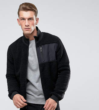 ONLY & SONS Teddy Jacket With Two Way Zip