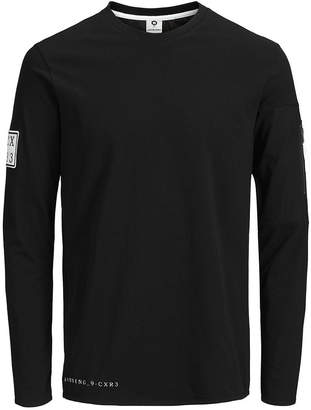 Jack and Jones Men's Band Long Sleeve Tshirt