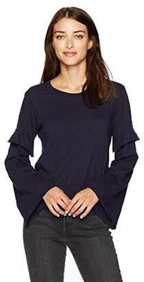 Wilt Women's Easy Layered Sleeve Sweatshirt Tee
