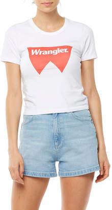 Wrangler Fangs Tee White