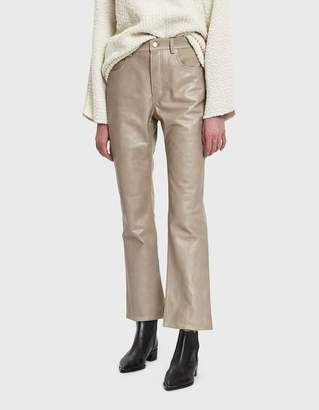Acne Studios Contrast Leather Trouser