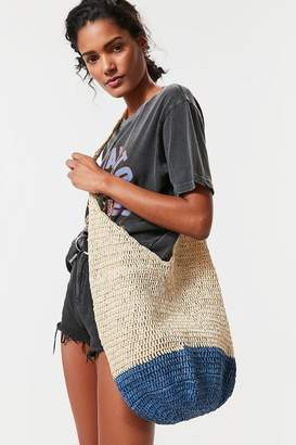 Urban Outfitters Slouchy Straw Tote Bag