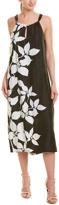 Trina Turk Midi Roe Shift Dress