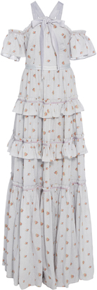 Needle & Thread Floral Cotton Gown $600 thestylecure.com