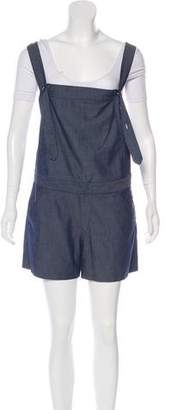 Rebecca Minkoff Textured Sleeveless Overall w/ Tags