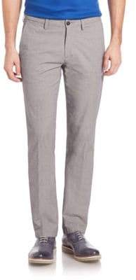 Saks Fifth Avenue COLLECTION Birdseye Chino Pants