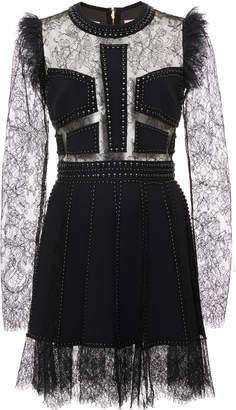 Elie Saab Cut Out Lace Lingerie Dress