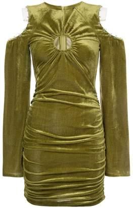 Neith Nyer slashed shoulder dress