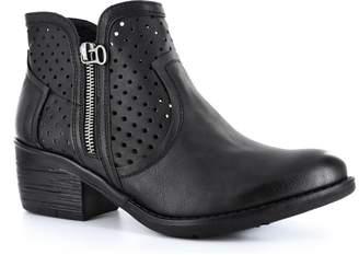 Corkys Footwear Bismark Perforated Ankle Bootie