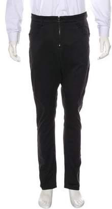 Kazuyuki Kumagai Attachment Drop Crotch Cropped Pants