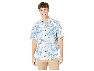 Quiksilver Waterman Japanese Oceans Short Sleeve Shirt