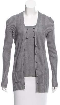 Chloé Wool Cardigan Set