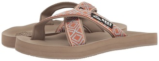 Reef - Crossover Women's Sandals $40 thestylecure.com