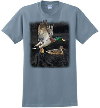 Express Yourself Products Yourself Duck Wilderness T-Shirt ( - XL)
