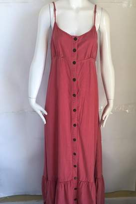 Free People Button Maxi Dress