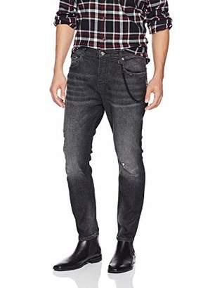 The Kooples Men's Skinny Basic Denim Jeans with Rips