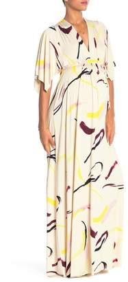 Rachel Pally Printed Long Caftan Maxi Dress (Maternity)