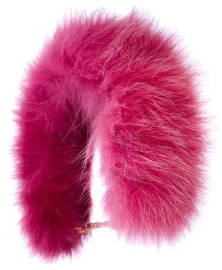 Anya Hindmarch Fox-Fur Bag Strap