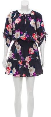 Yumi Kim Floral Silk Dress