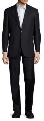 BrioniSolid Wool & Silk Suit