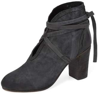Free People Ankle Tie Bootie