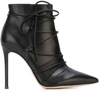 Gianvito Rossi lace-up booties