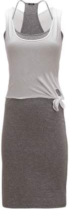 Monrow Double Layer Knotted Tank Dress - Women's