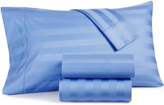 Charter Club Damask Stripe Extra Deep Pocket Queen 4-Pc Sheet Set, 550 Thread Count 100% Supima Cotton