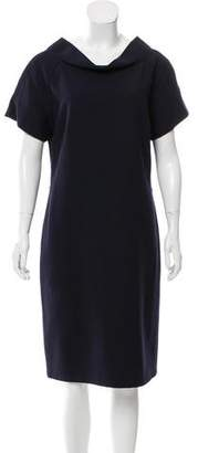 Tory Burch Wool-Blend Midi Dress
