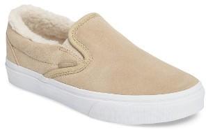 Women's Vans Classic Plush Lined Sneaker $64.95 thestylecure.com