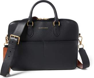 Ralph Lauren Calfskin Crossbody Briefcase