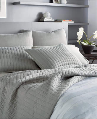 Donna Karan Casual Luxe Cotton King Quilt Bedding
