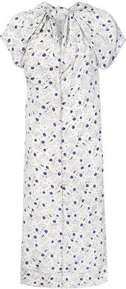 Marni knotted neck shift dress