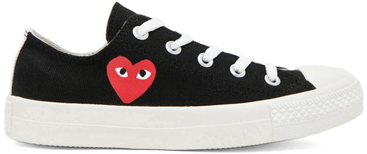 Comme des Garcons Converse Canvas Sneakers