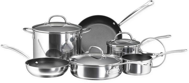 Farberware Millennium 10-pc. Nonstick Cookware Set