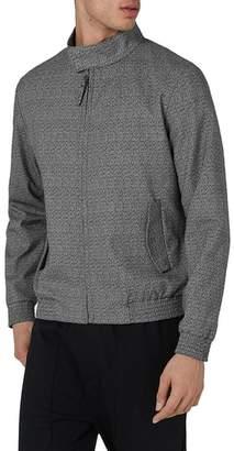Topman Textured Harrington Jacket