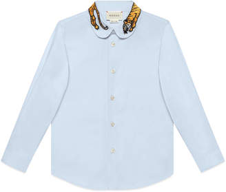 Children's cotton shirt with tiger $365 thestylecure.com