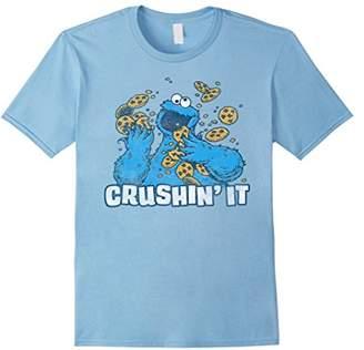 Sesame Street Cookie Monster Crushin' It T-Shirt