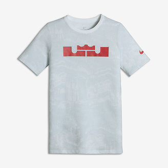 Nike Dry LeBron Pixel Big Kids' (Boys') T-Shirt $30 thestylecure.com
