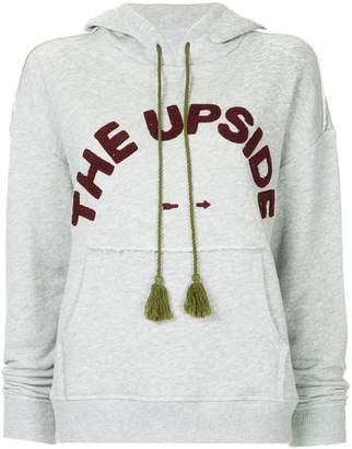 The Upside logo hoodie