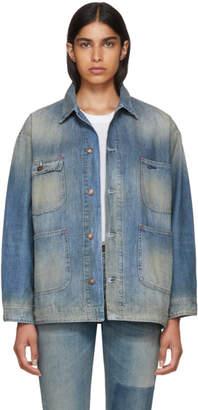 6397 Blue Denim Worker Jacket