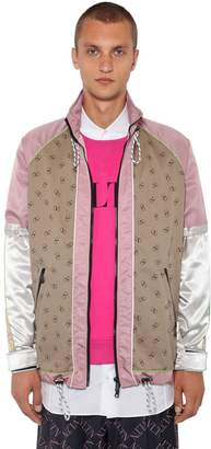 Valentino Logo Cotton Gabardine Jacket