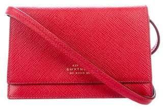 Smythson Mini Leather Crossbody Bag