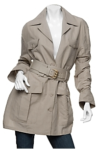 Stella McCartney Belted Safari Trench Coat
