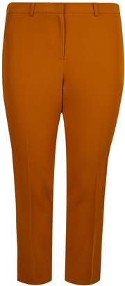 Dorothy Perkins Womens **Dp Curve Tan Elastane Ankle Grazer Trousers