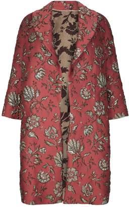 Marina Rinaldi JacquardFloral Coat