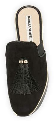 Karl Lagerfeld Paris Calista Slide Sneakers Mule